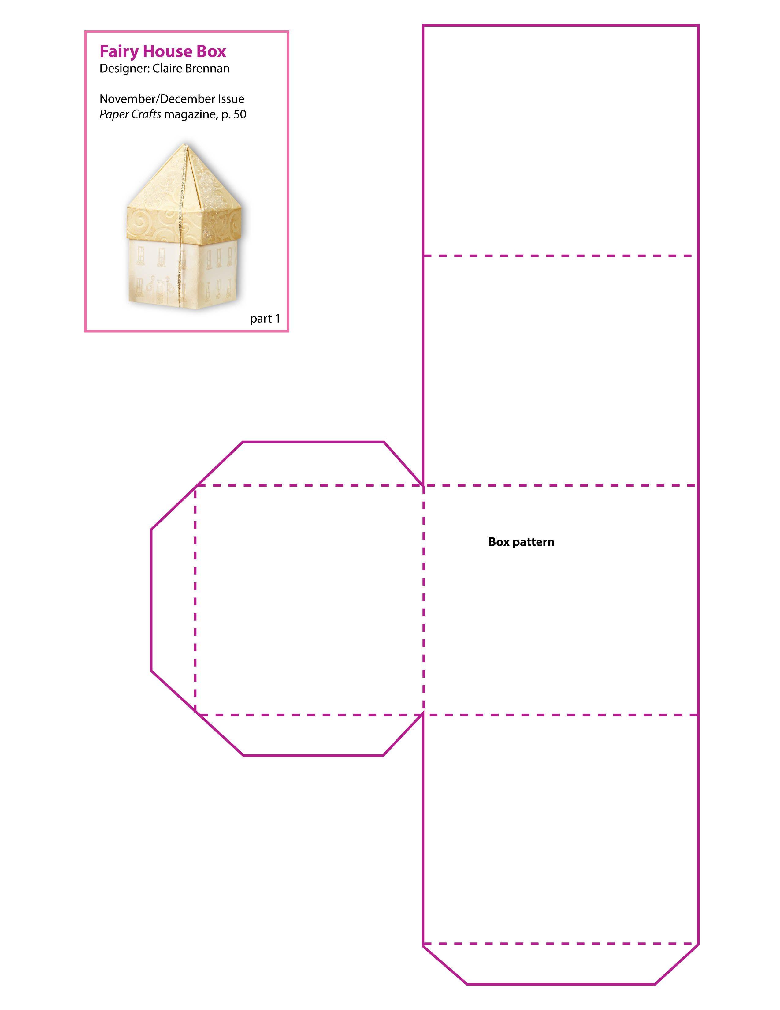 001 Box Templates Free Printable Template Ideas ~ Ulyssesroom - Printable Box Templates Free Download