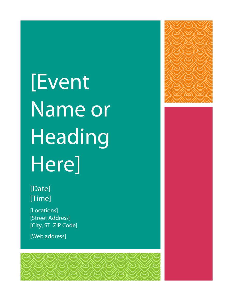 001 Template Ideas Free Printable Flyer Templates ~ Ulyssesroom - Create Free Printable Flyer
