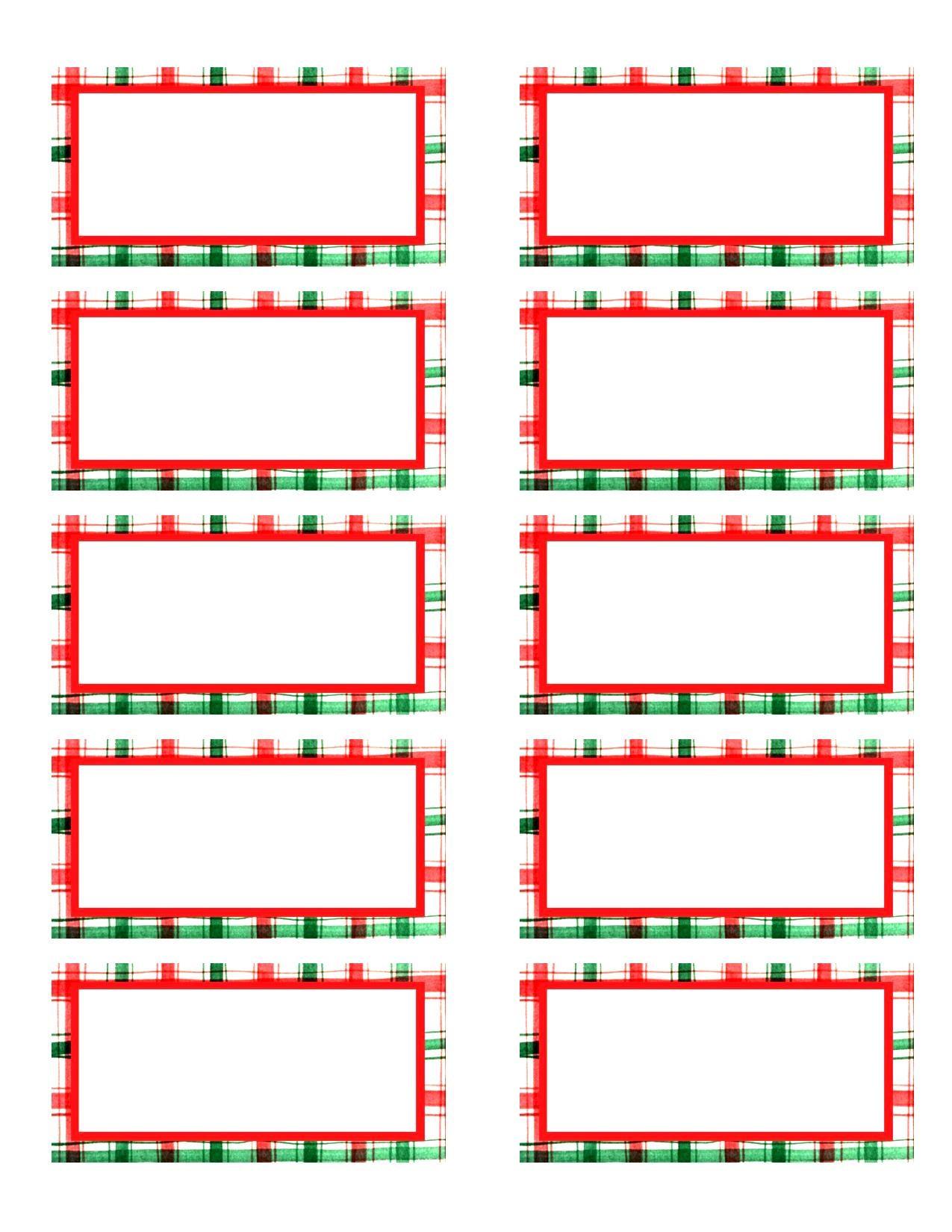 002 Template Ideas Christmas Address Labels Sample Basic Free Return - Free Printable Christmas Return Address Label Template