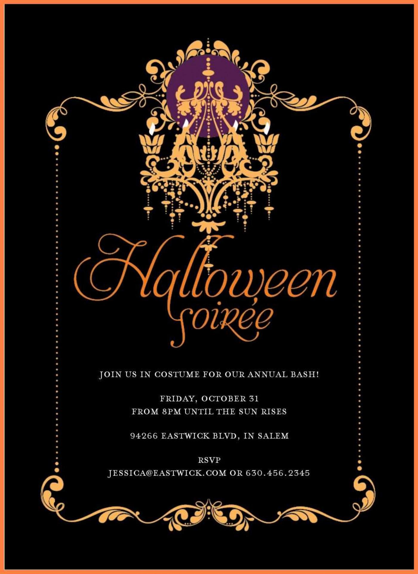 003 Free Halloween Invite Templates Template Ideas ~ Ulyssesroom - Free Online Halloween Invitations Printable
