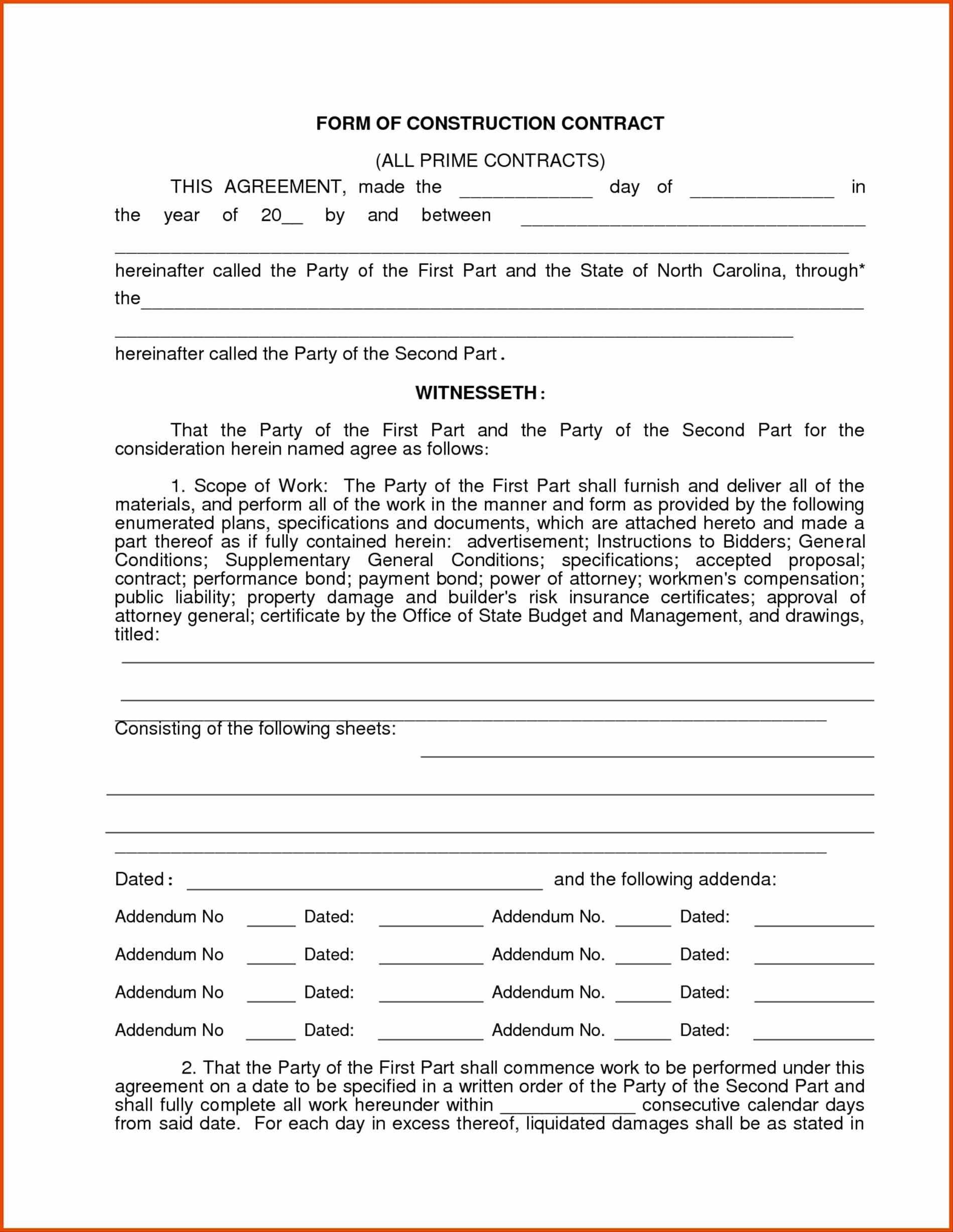 004 Free Roofing Contract Template Printable Construction Contracts - Free Printable Construction Contracts