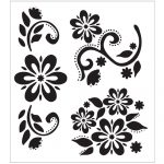 004 Stencil Templates For Painting Folkart Stencils 64 1000 Template   Free Printable Flower Stencils