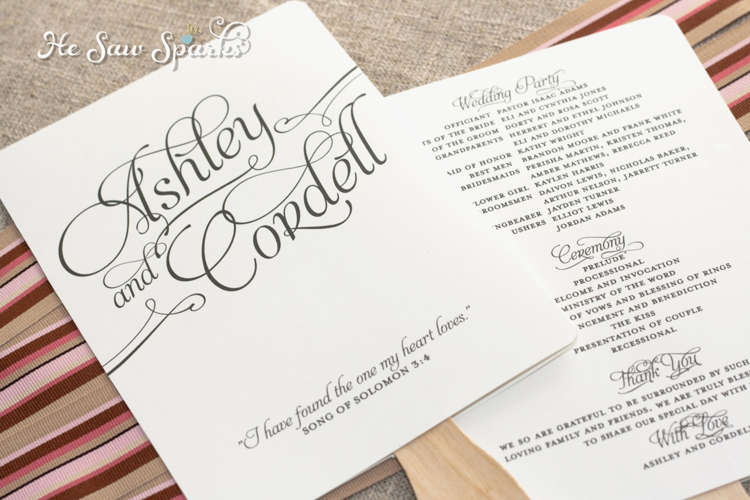006 Free Wedding Program Fan Templates Template Ideas ~ Ulyssesroom - Free Printable Fan Wedding Programs