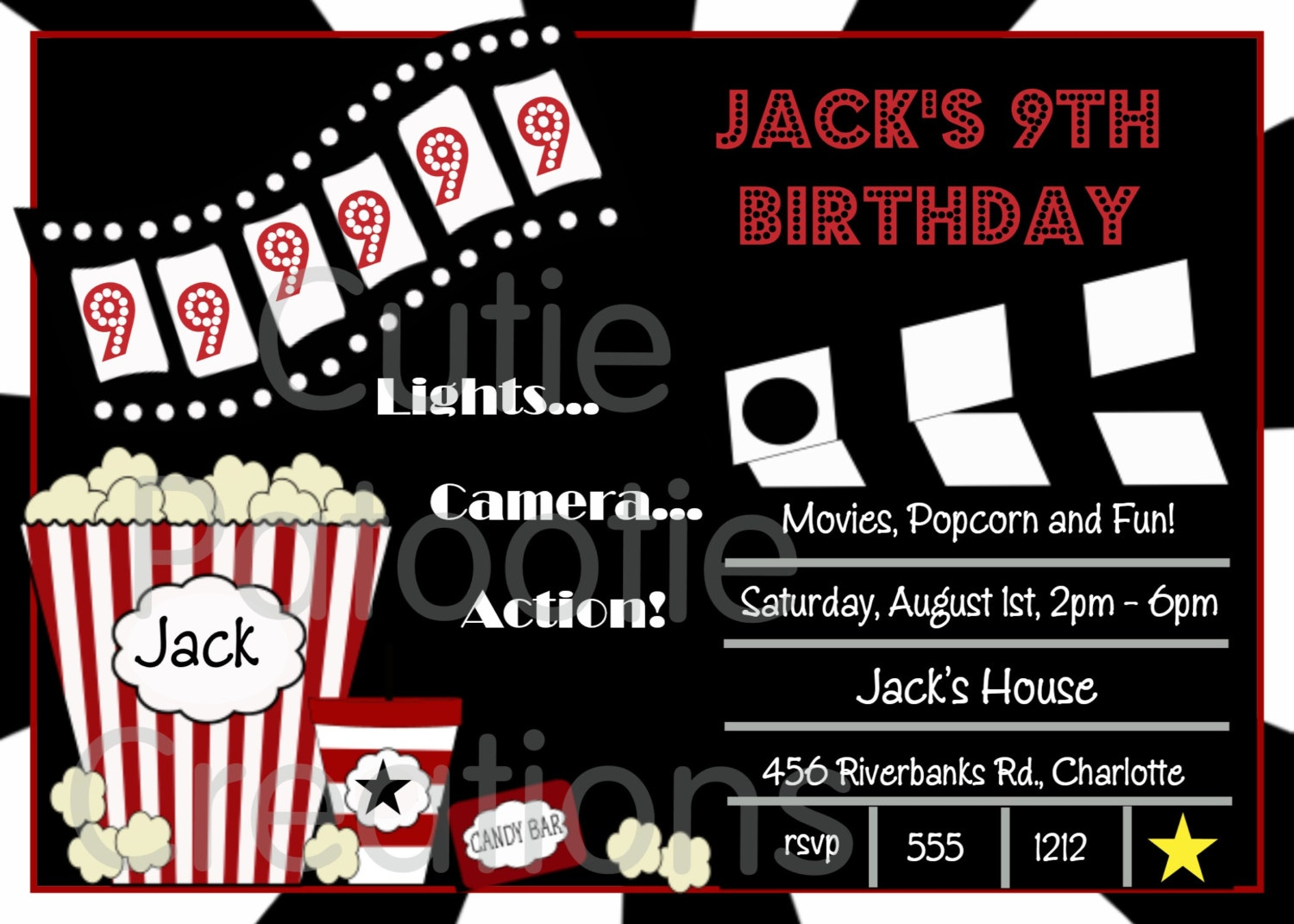 006 Movie Ticket Invitation Template Free Ideas ~ Ulyssesroom - Free Printable Ticket Invitation Templates