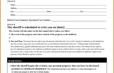 009 Free Eviction Notice Templates Template ~ Ulyssesroom – Free Printable Eviction Notice Ohio