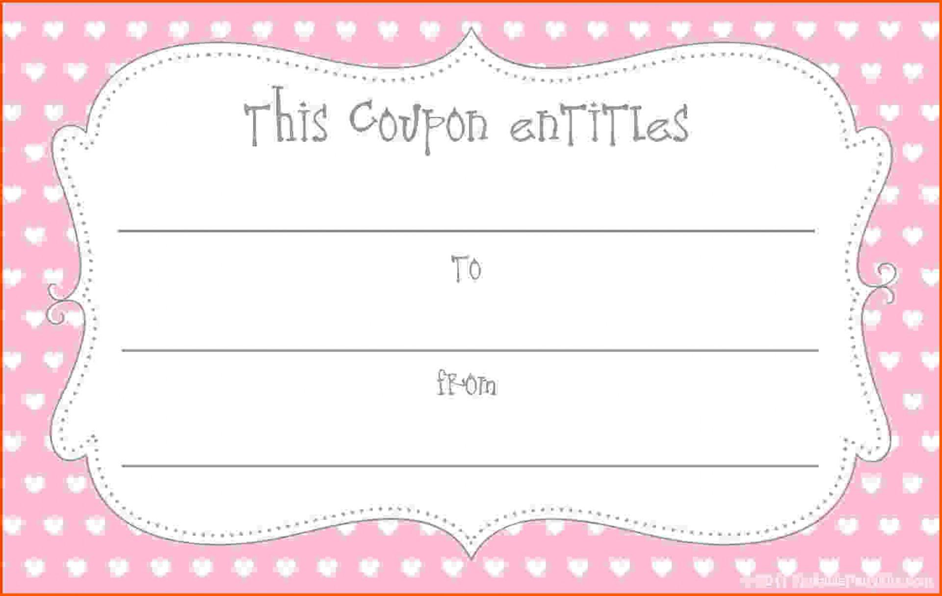 010 Free Printable Coupon Templates Template Ideas Valentine - Free Printable Coupon Templates