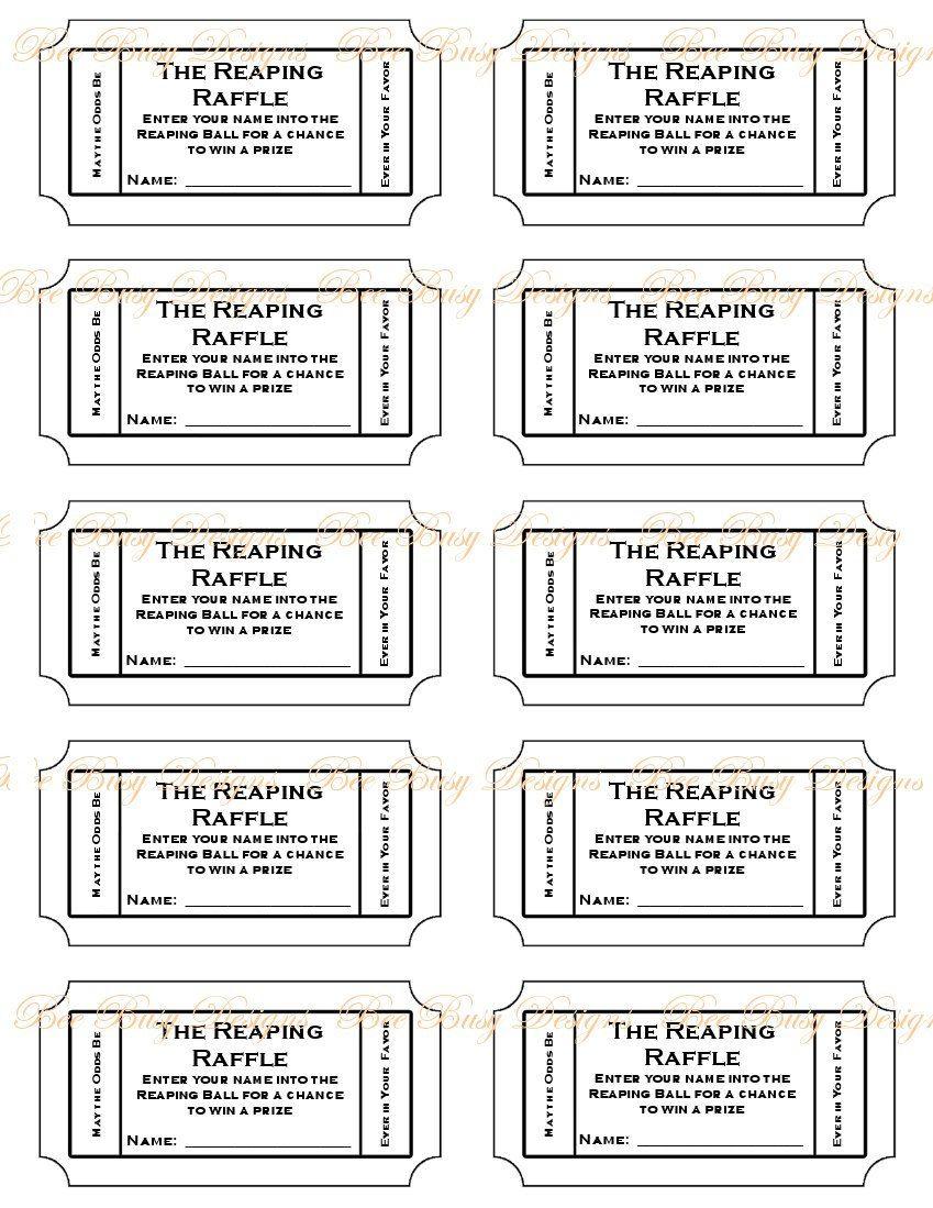 012 Diaper Raffle Tickets Template ~ Ulyssesroom - Free Printable Diaper Raffle Tickets Black And White