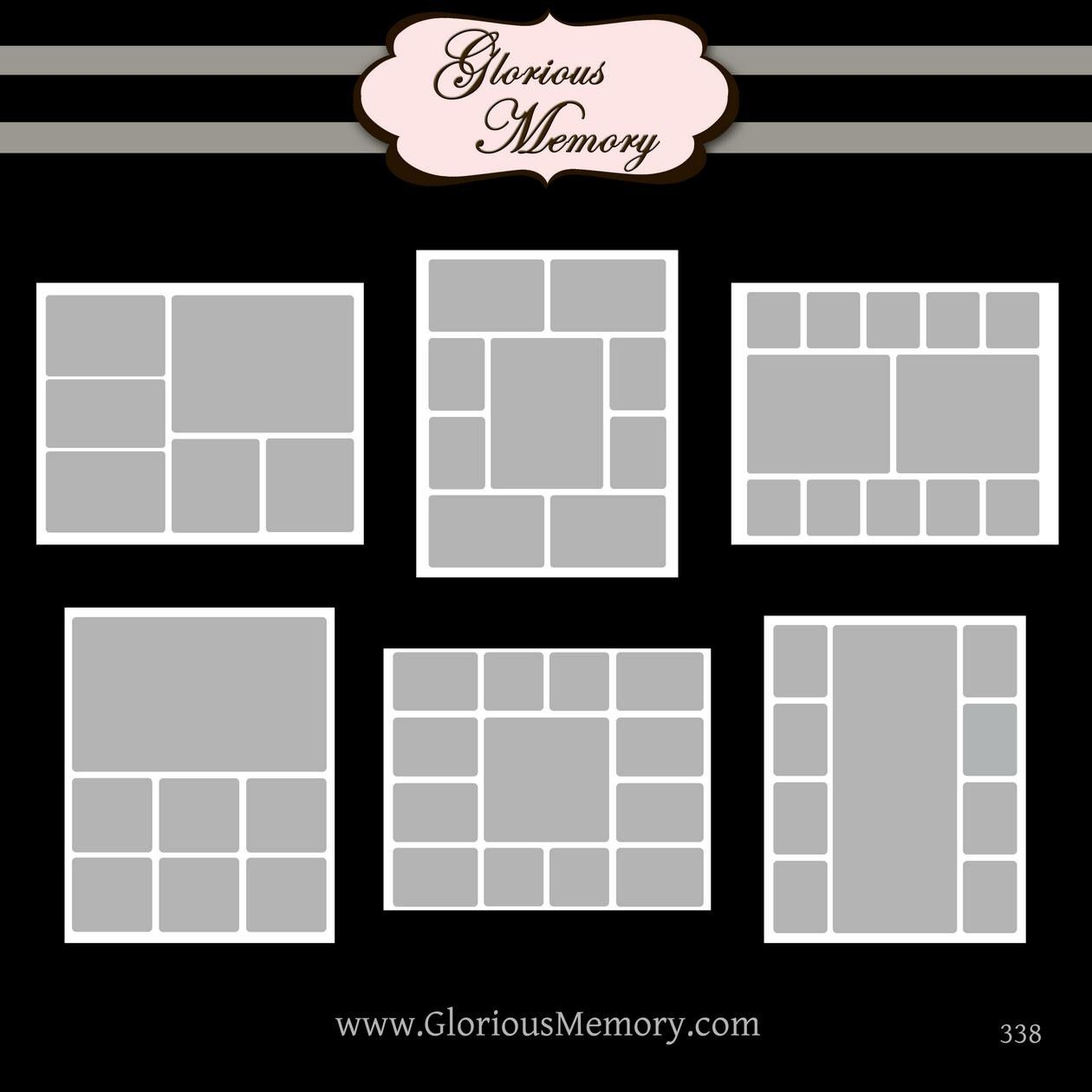 014 Free Photo Collage Templates Template ~ Ulyssesroom - Free Printable Photo Collage Template
