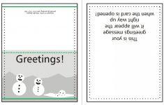 015 Template Ideas Fold Card Word Business Blank Inspirational Free – Free Printable Quarter Fold Christmas Cards