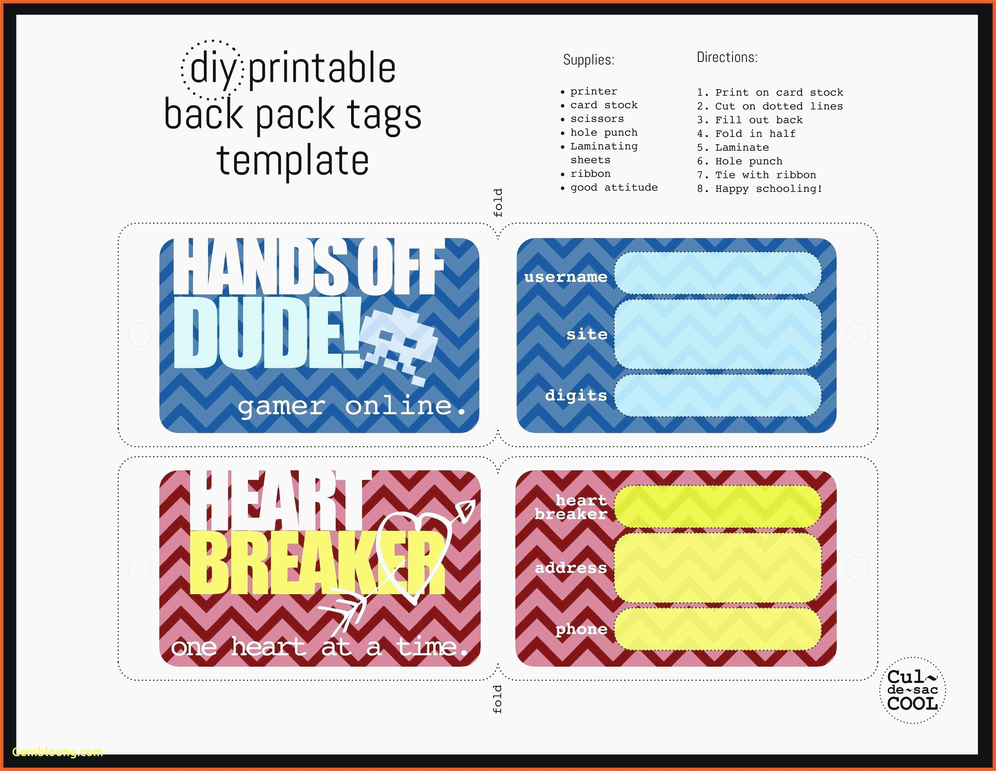 015 Template Ideas Luggage Tag Word Awesome Free Printable Tags - Free Printable Luggage Tags