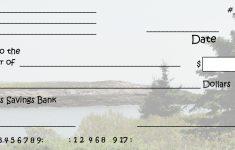 Free Printable Blank Checks