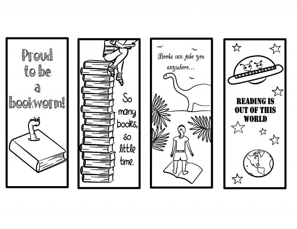 017 Template Ideas Free Printable Bookmark Templates To Color Google - Free Printable Bookmarks To Color