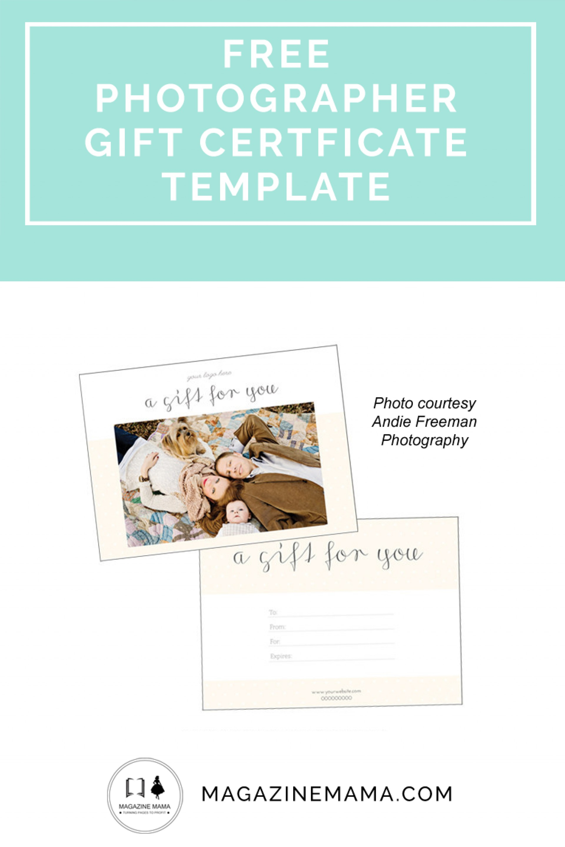 019 Printable Photography Gift Certificate Template Awesome Ideas - Free Printable Photography Gift Certificate Template
