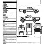 019 Vehicle Inspection Form Template Free Printable Gameshacksfree   Free Printable Vehicle Inspection Form