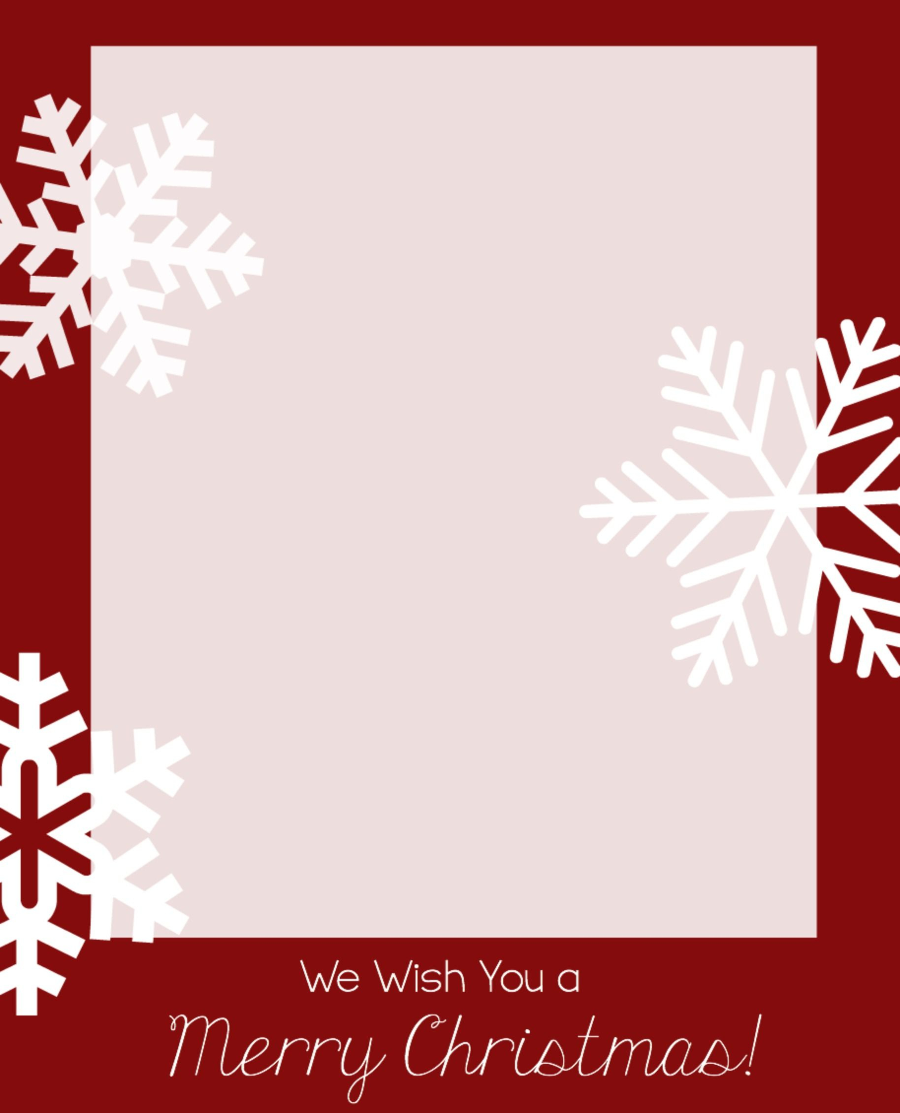 020 Free Photo Card Templates Template Ideas Christmas ~ Ulyssesroom - Free Printable Christmas Cards With Photo Insert