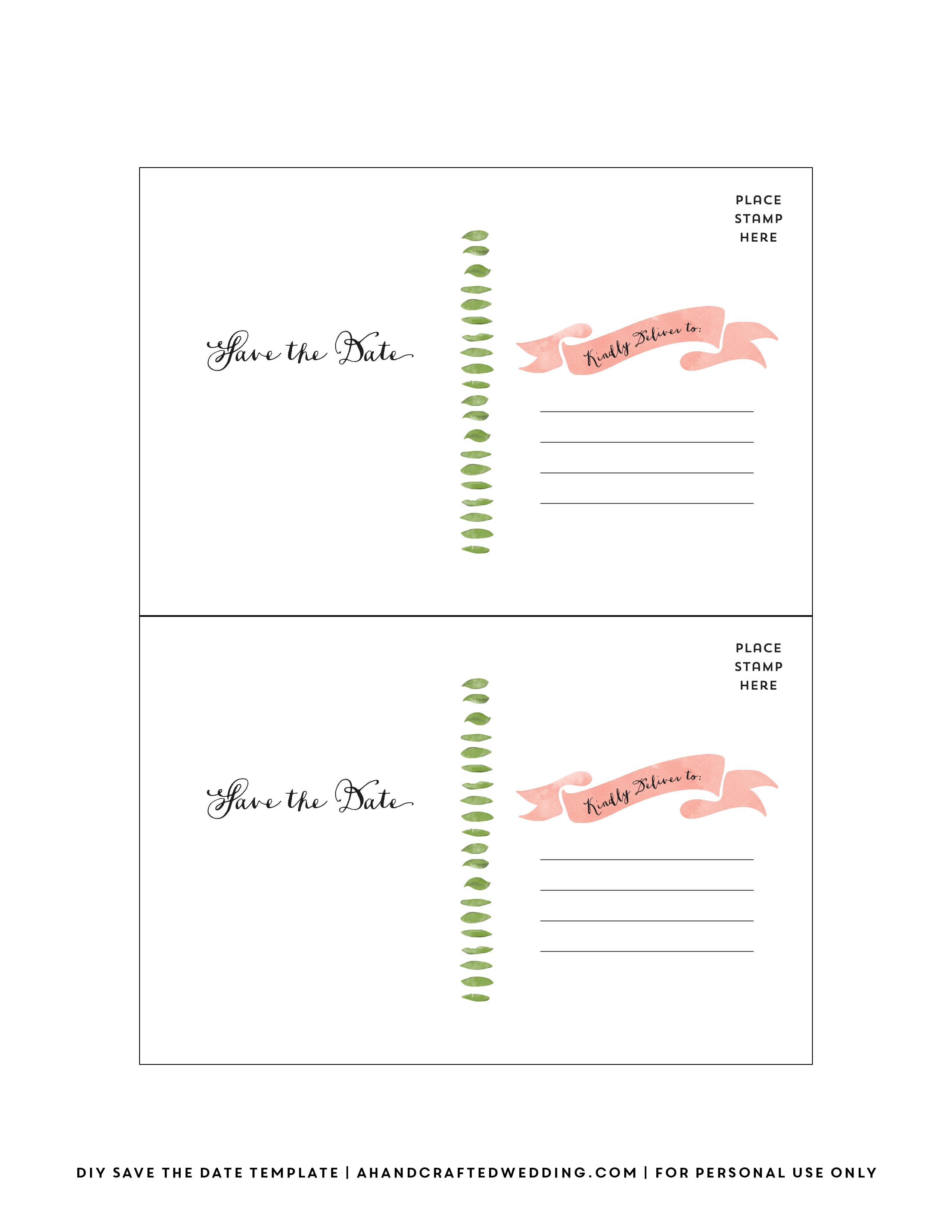 020 Template Ideas Free Postcard Back Photo Illustrator Templates - Free Printable Monster Templates
