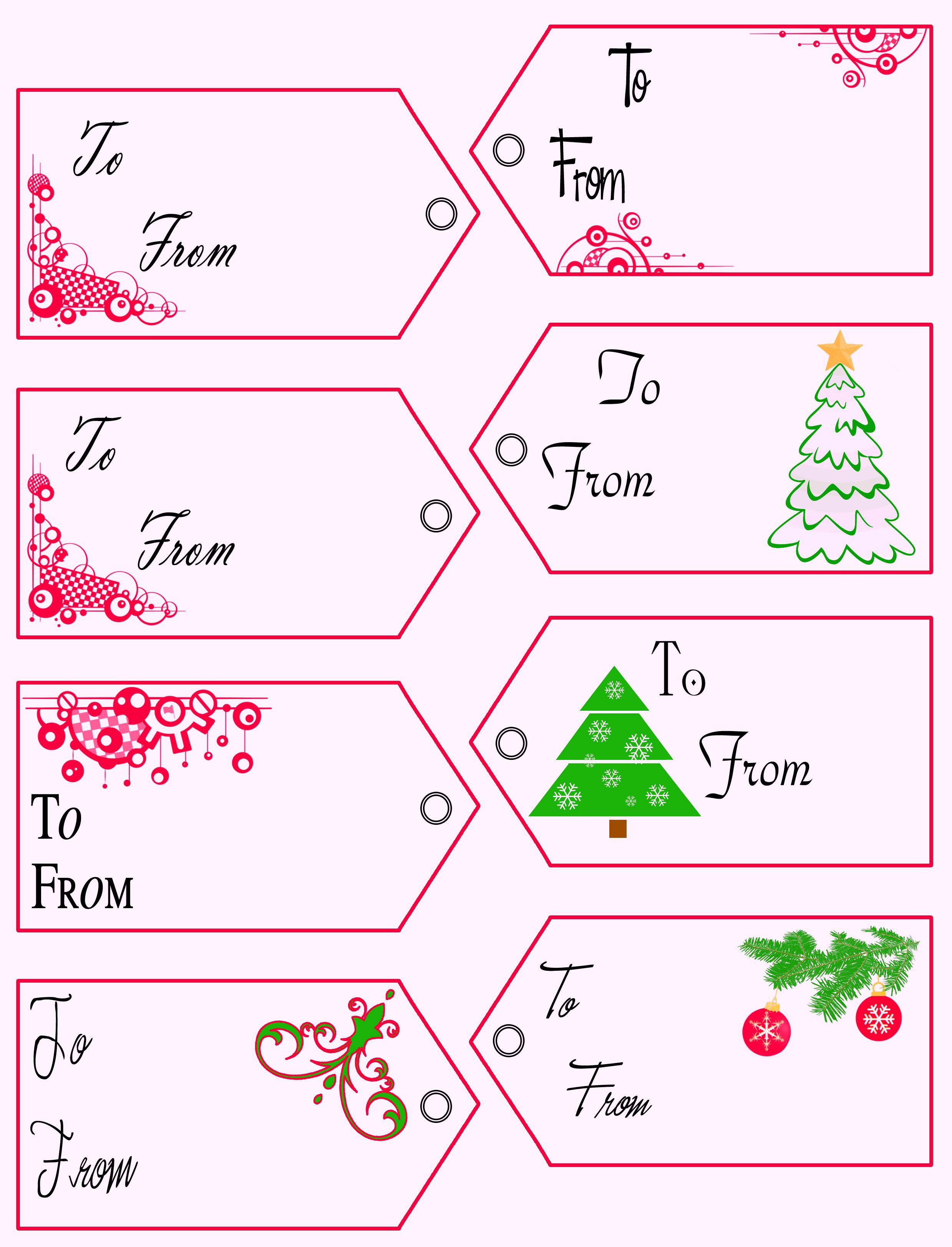 022 Printable Gift Tags Templates Birthday Tag Template ~ Ulyssesroom - Free Printable Gift Tag Templates For Word
