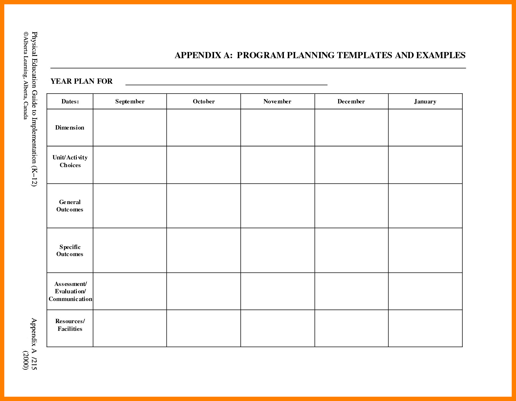 025 Free Printable Preschool Lesson Plan Template Blank For With - Free Printable Preschool Lesson Plans