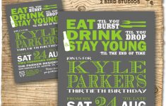 Free Printable Birthday Invitations For Him