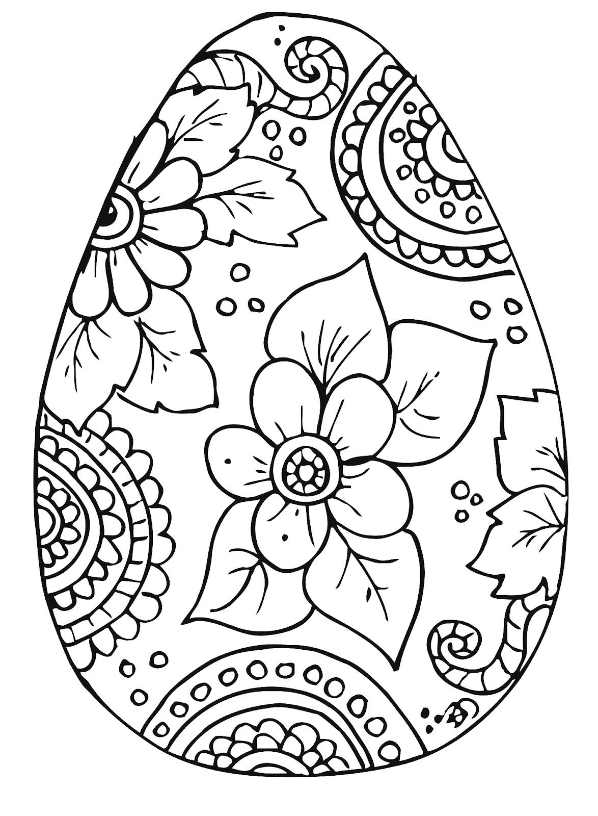 10 Cool Free Printable Easter Coloring Pages For Kids Who've Moved - Free Easter Color Pages Printable
