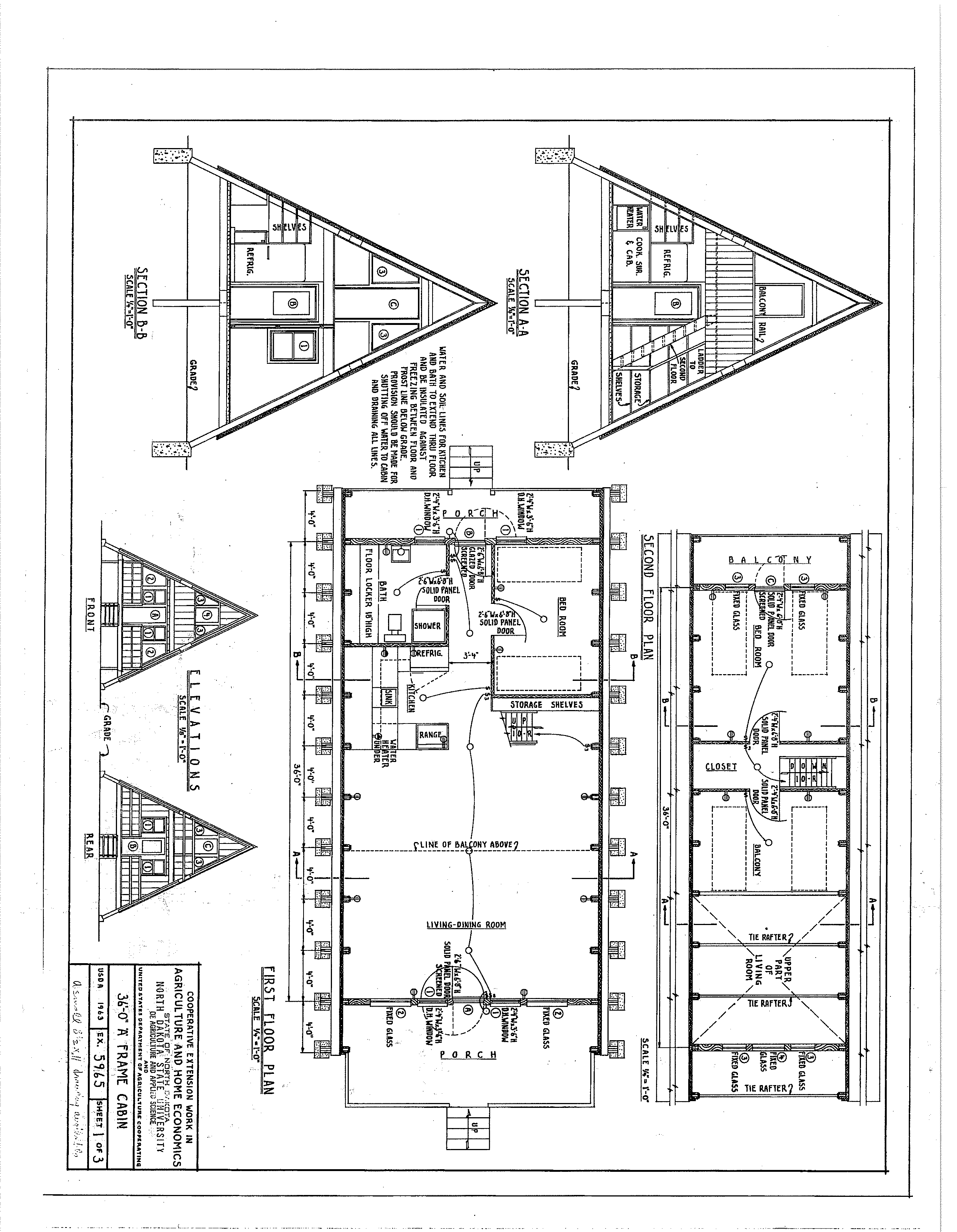10 Fabulous Cabin Plans To Suit You! | A New Start | A Frame Cabin - Free Printable Small House Plans