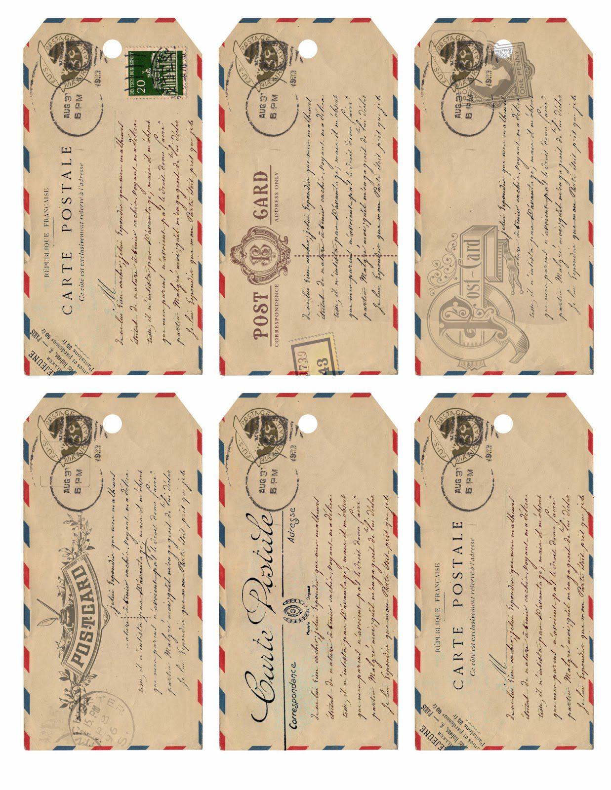 10 Free Printable Gift Tag Templates And Designs - Free Printable Vintage Christmas Tags For Gifts