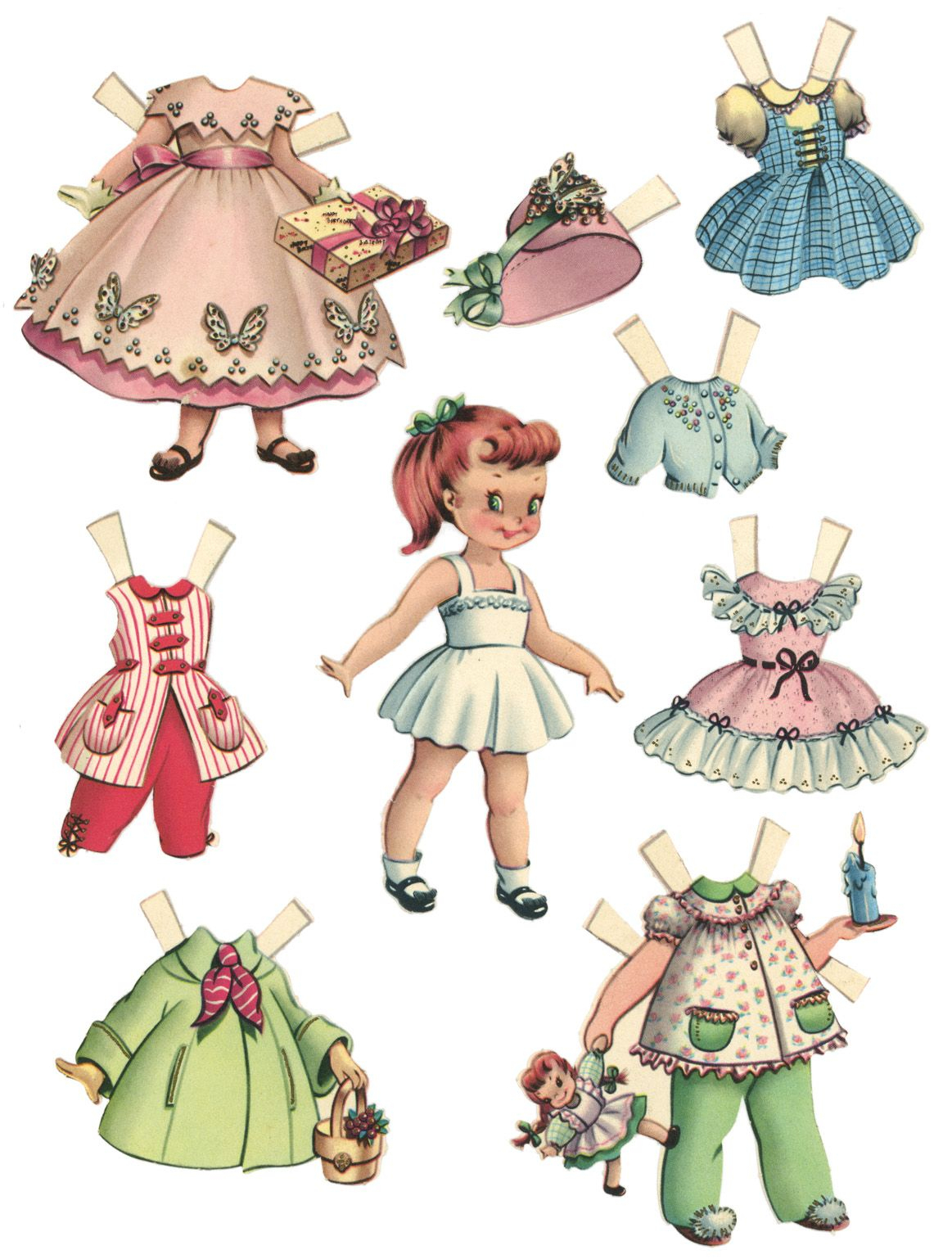 10 Free Printable Paper Dolls | Everyone Needs A Toy :) | Pinterest - Free Printable Paper Dolls