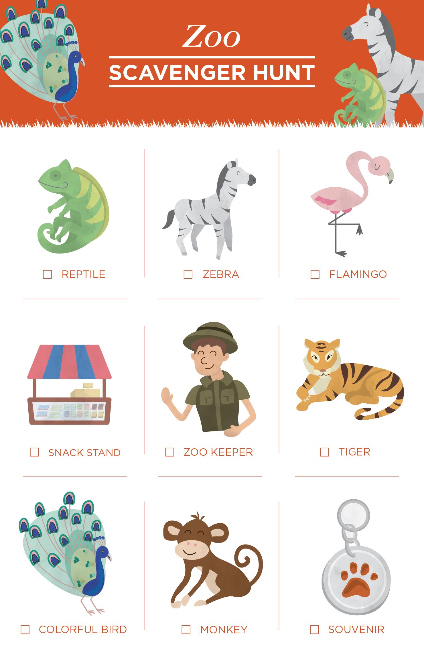 10 Free Scavenger Hunt Printables For Kids - Must Have Mom - Free Printable Scavenger Hunt For Kids