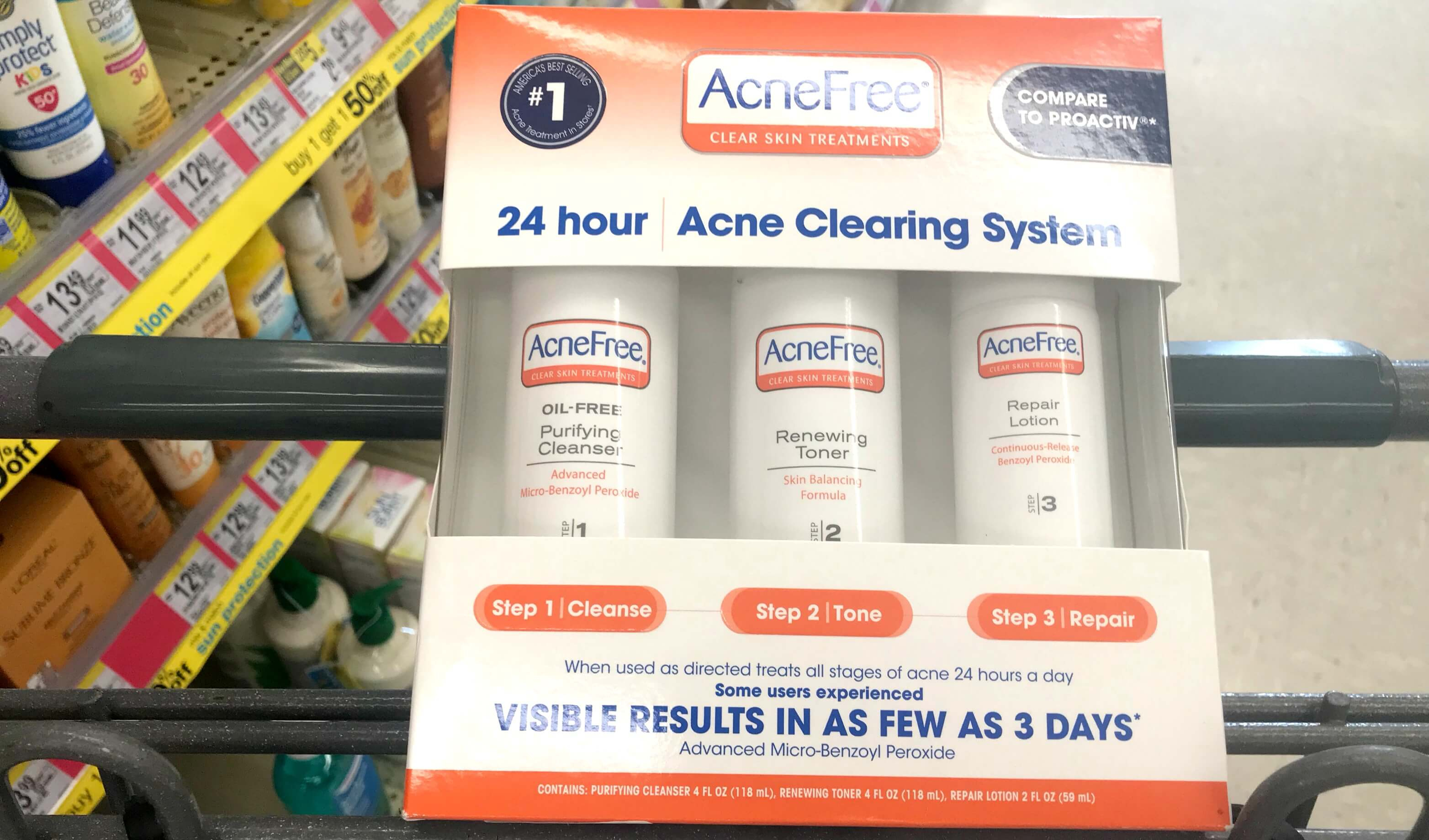 $10 In New Acnefree Skin Care Coupons + Great Deals At Target - Acne Free Coupons Printable