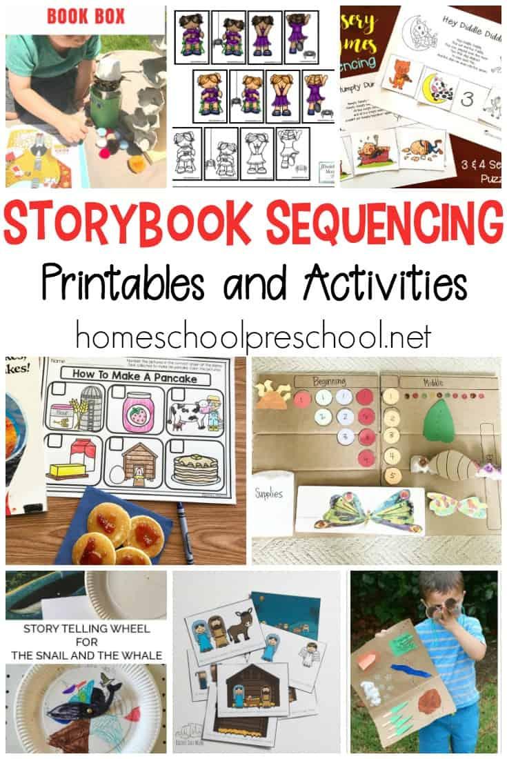10 Story Sequencing Cards Printable Activities For Preschoolers - Free Printable Sequencing Cards For Preschool
