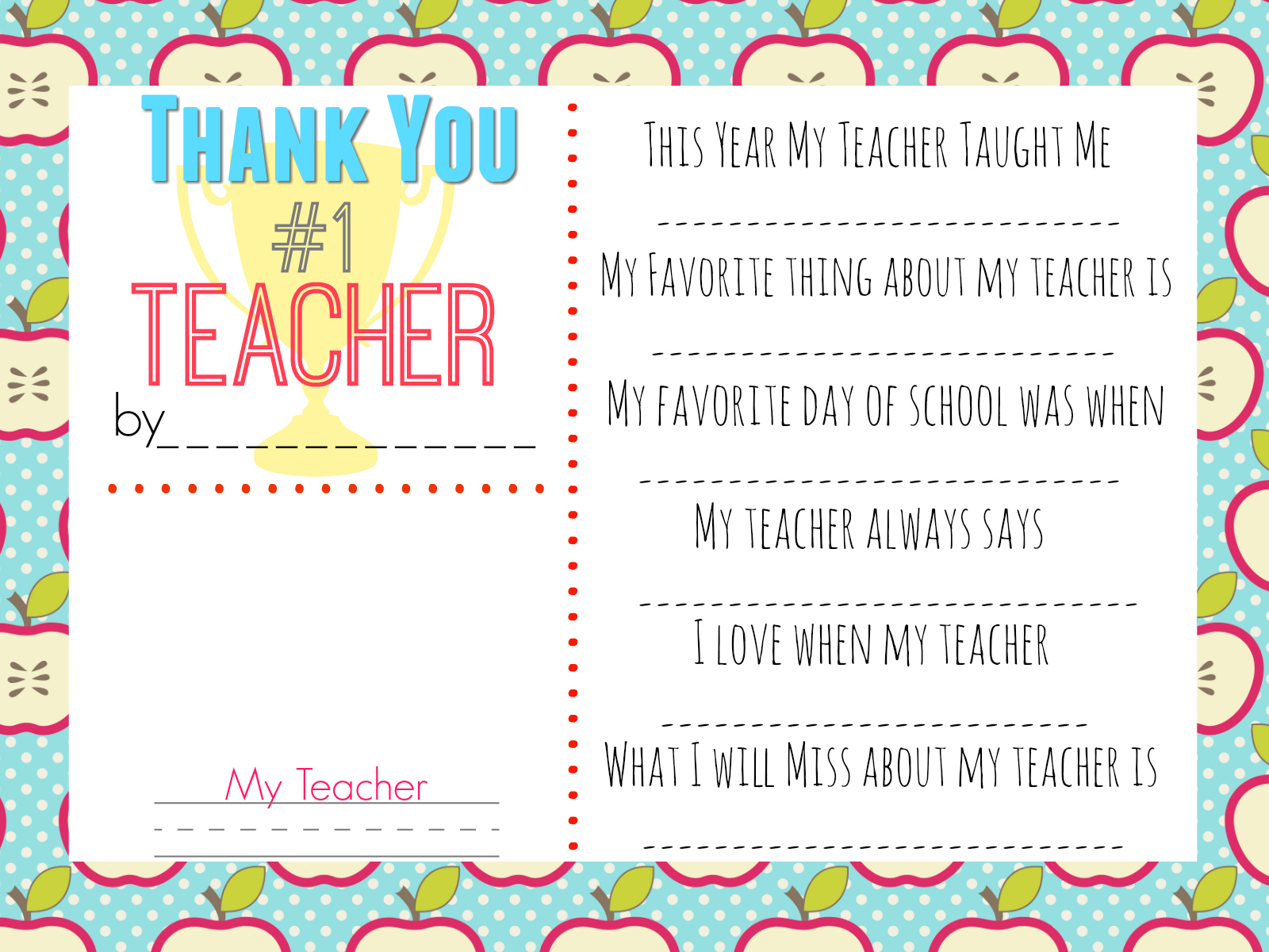 10 Teacher Gift Ideas W/ Free Printable Gift Tags - Hip2Save - Printable Thangles Free