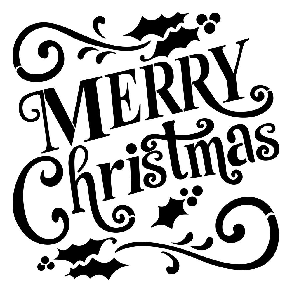 100+ Merry Christmas 2018 Quotes, Wishes, Messages | Merry Xmas - Merry Christmas Stencil Free Printable