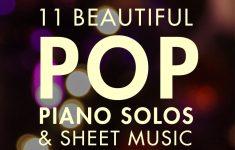 Free Piano Sheet Music Online Printable Popular Songs