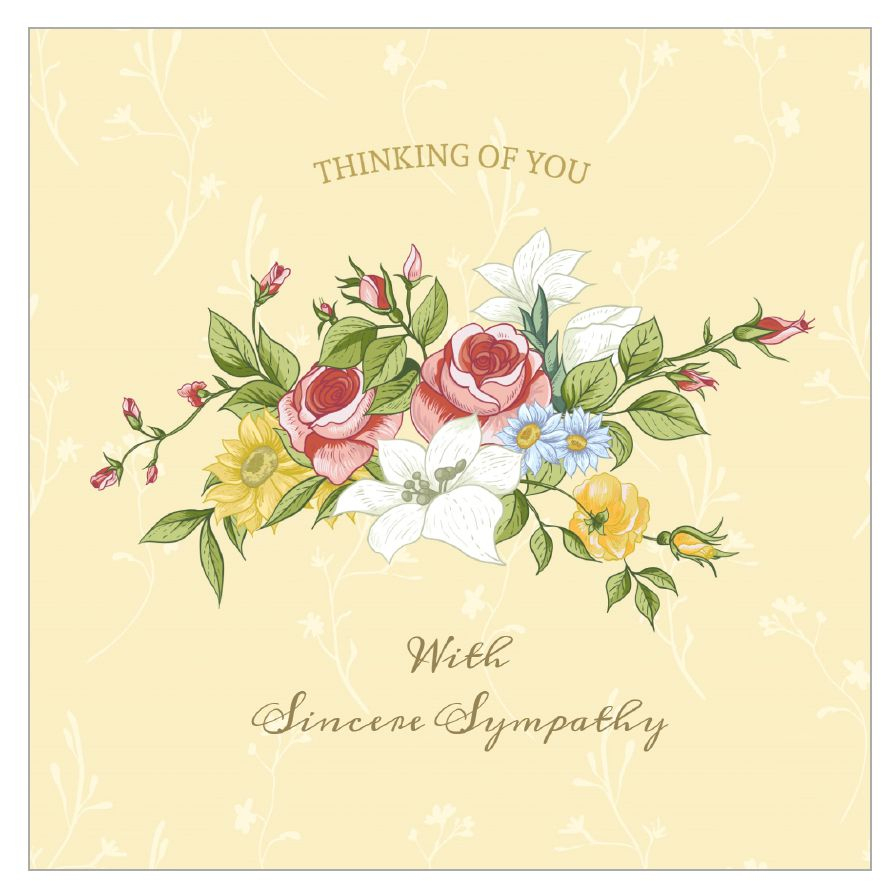 11 Free, Printable Condolence And Sympathy Cards - Free Printable Sympathy Card For Loss Of Pet