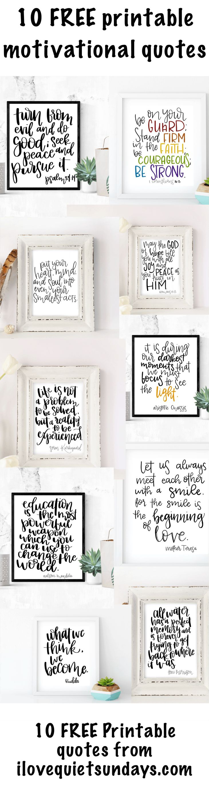 118 Best Word Art Images On Pinterest | Free Printables, Etchings - Free Printable Quotes Templates