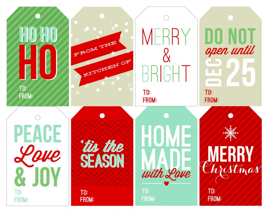 12 Free Printable Christmas Gift Tags That Are Beyond Gorgeous - Hot - Free Printable Holiday Gift Labels