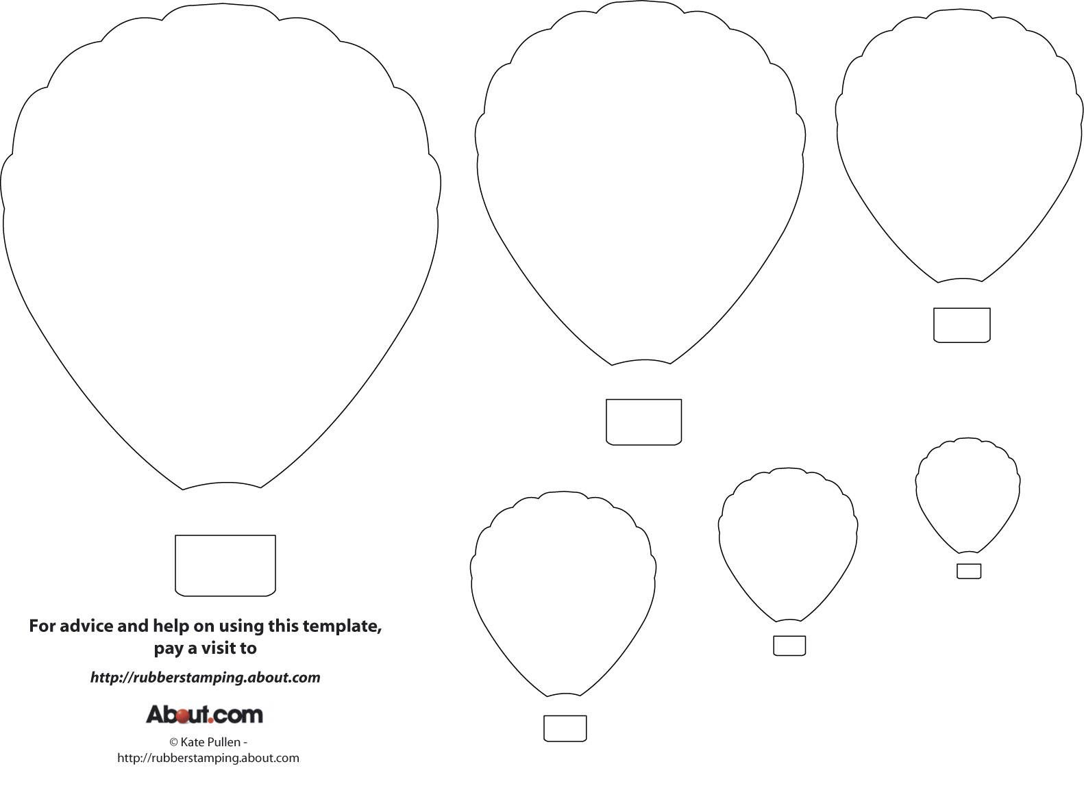 12 Free Printable Templates | Printables | Pinterest | Balloon - Free Printable Pictures Of Balloons