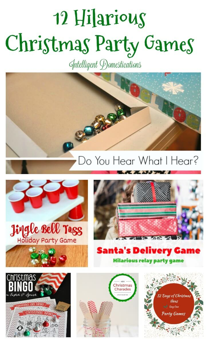 12 Hilariously Fun Christmas Party Games - Twelve On Main - Holiday Office Party Games Free Printable