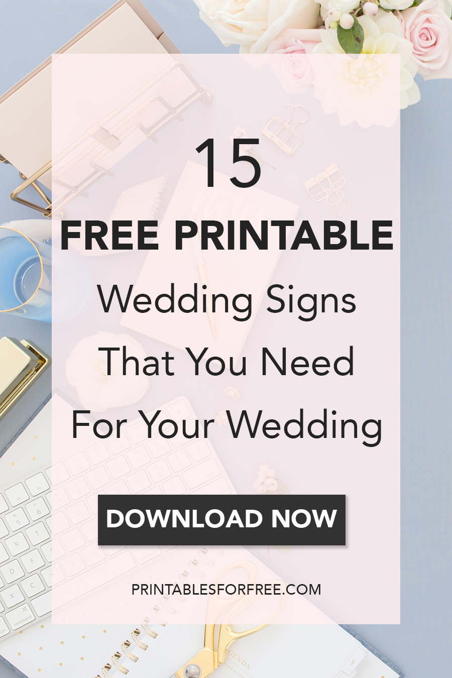 15 Free Printable Wedding Signs That You Need For Your Wedding - Free Printable Wedding Signs
