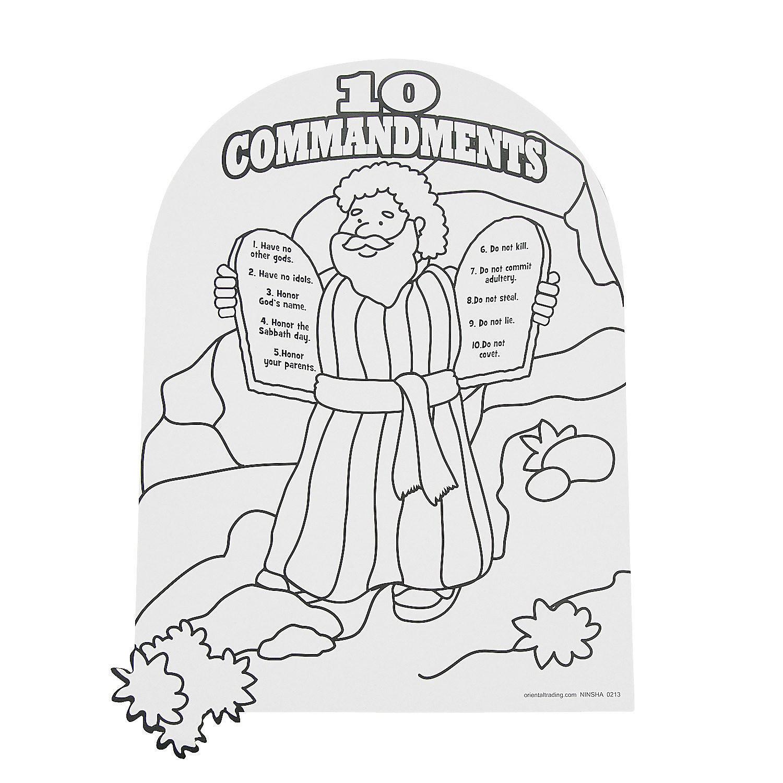 15 Fresh Free Printable Ten Commandments Coloring Pages - Free Printable Ten Commandments Coloring Pages