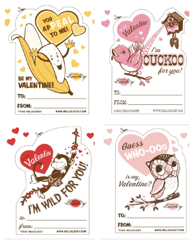 15 Of The Best Free Printable Valentine's Cards For The Classroom - Free Printable School Valentines Cards