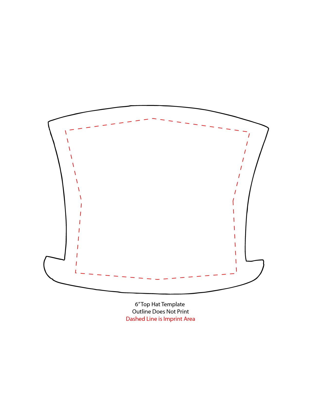 15 Snowman Hat Template Images - Printable Snowman Hat Pattern - Free Printable Snowman Hat Templates