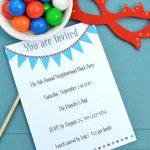 17 Free, Printable Birthday Invitations – Free Printable Birthday Party Invitations With Photo