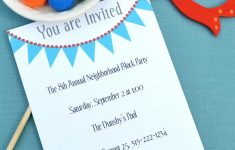 17 Free, Printable Birthday Invitations – Free Printable Birthday Party Invitations With Photo