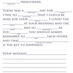 18 Fun Wedding Mad Libs | Kittybabylove   Free Printable Wedding Mad Libs