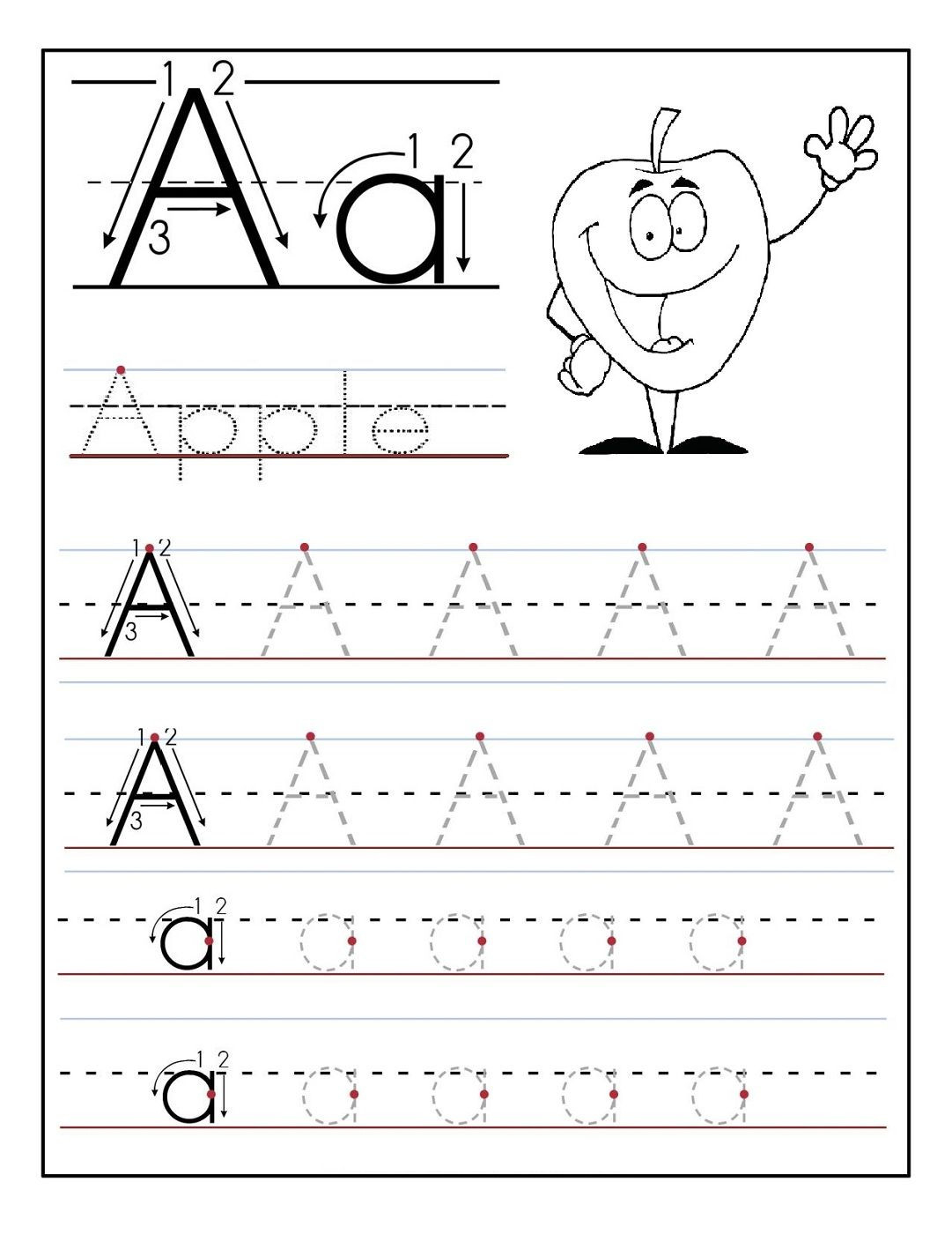 18 Inspirational Free Printable Preschool Worksheets Tracing Letters - Free Printable Preschool Worksheets Tracing Letters