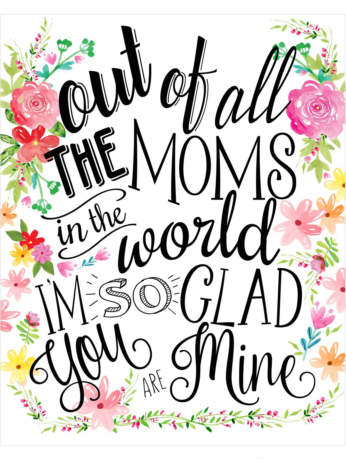 18 Mothers Day Cards - Free Printable Mother's Day Cards - Free Printable Mothers Day Cards No Download