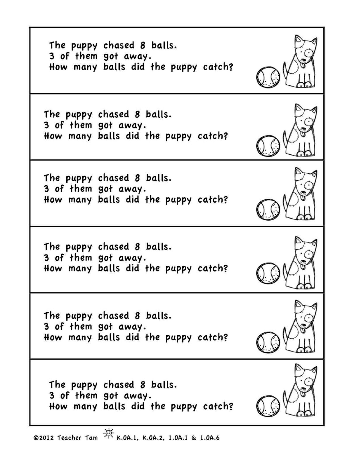 1St Grade Woes - Free Printable 1St Grade Math Word Problems