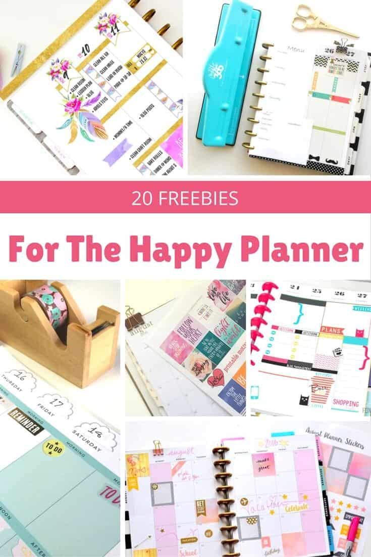 20 Awesome Happy Planner Free Printables - Diy Candy - Free Printable Happy Planner Stickers
