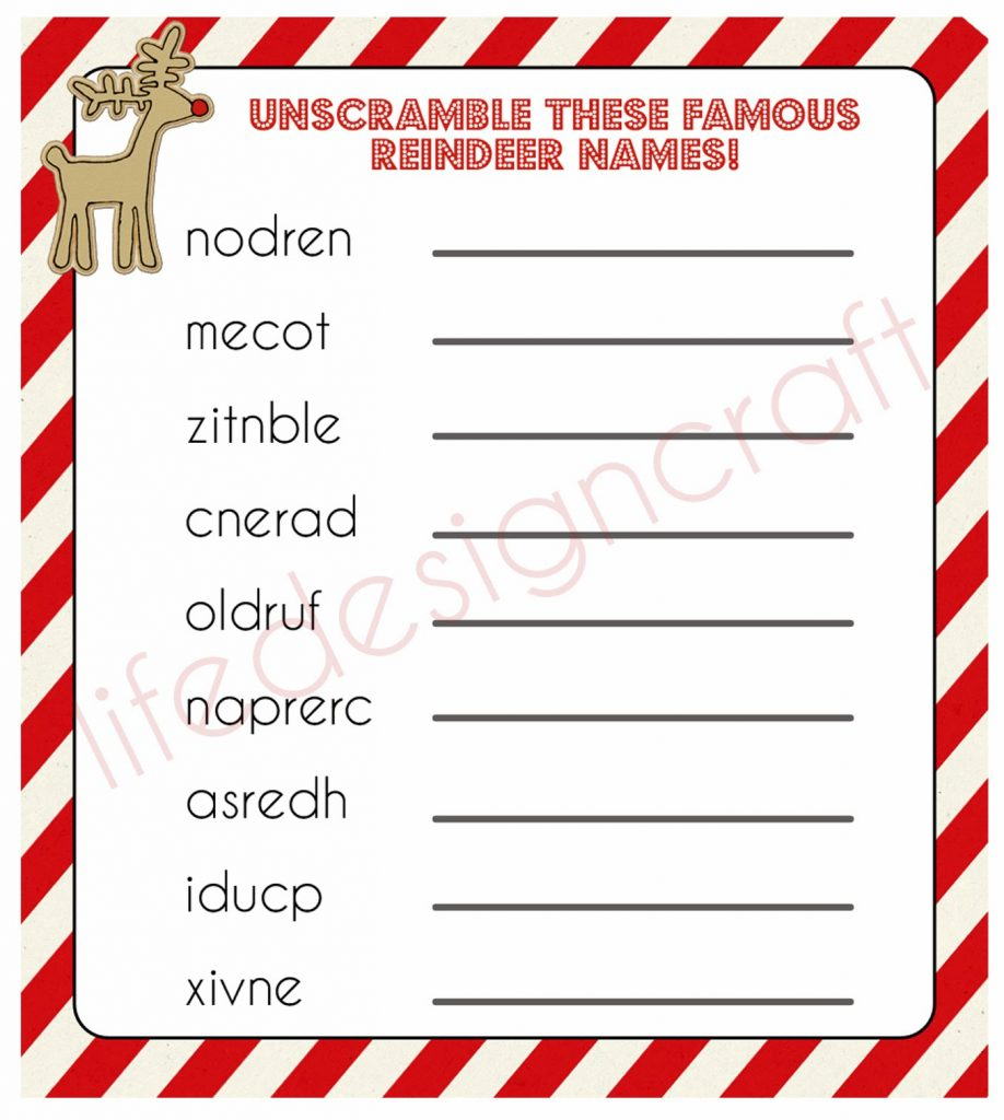 20 Free Printable Christmas Games - Christmas Celebration - All - Free Printable Christmas Games For Preschoolers